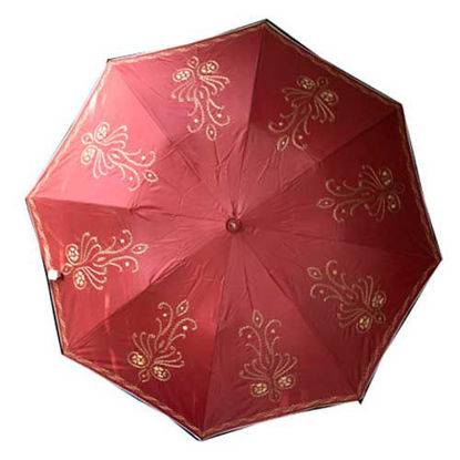 Picture of Handcrafted Scarlet Umbrella