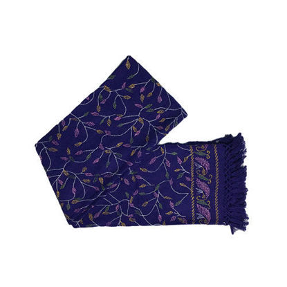 Picture of Woolen Shawl Blue