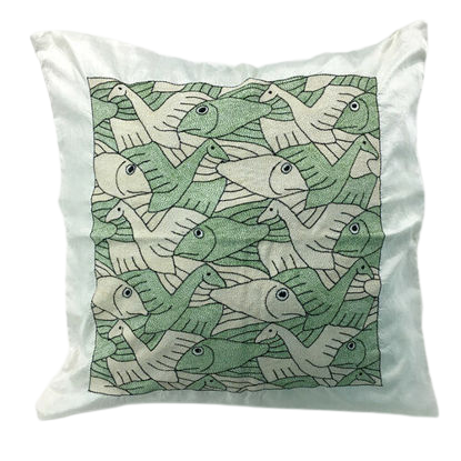 Picture of Cushion Cover 18 in x 18 in - design-8 (Silk)