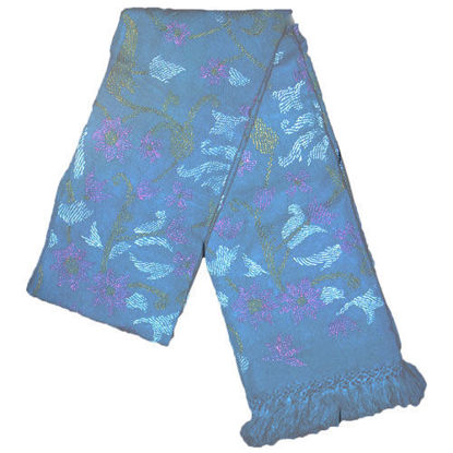 Picture of Woolen Shawl SkyBlue