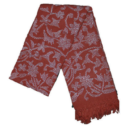 Picture of Woolen Shawl Red