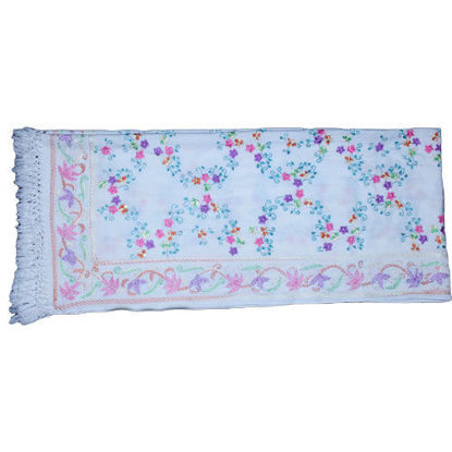 Picture of Woolen Shawl Pink Blue