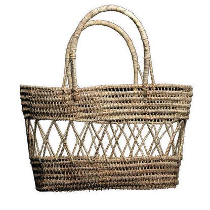 Picture of Palm Fiber Basket (Carry Bag)